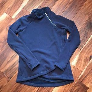 Athleta Cozy Karma Wrap Sweatshirt
